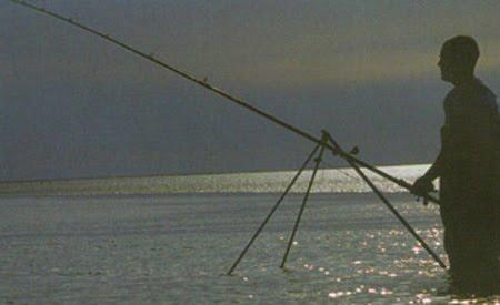 Draamland fir Surf-casting. Reenroe-beach