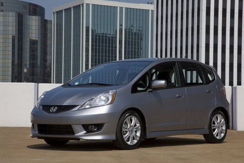 is the 2010 Honda Fit:
