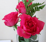 ROSE COLORED ROSES