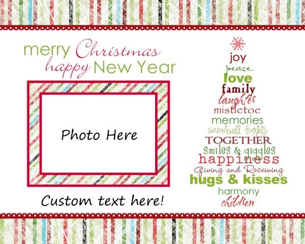 Cap Creations Freebie Photo Christmas Cards – Christmas Cards Sample