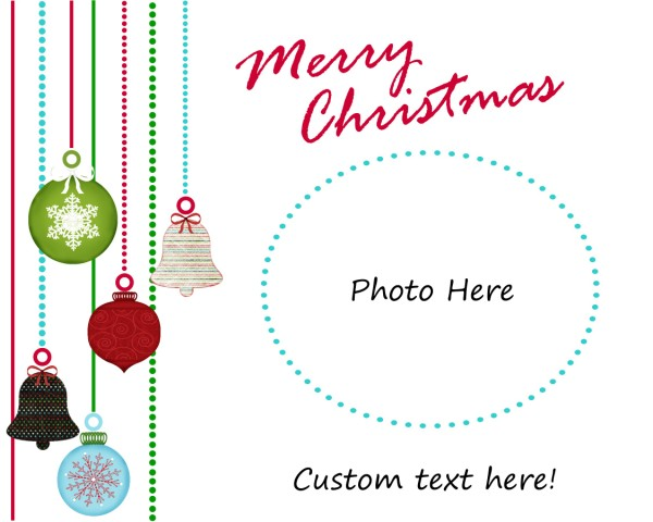 cap creations freebie photo christmas cards. Black Bedroom Furniture Sets. Home Design Ideas