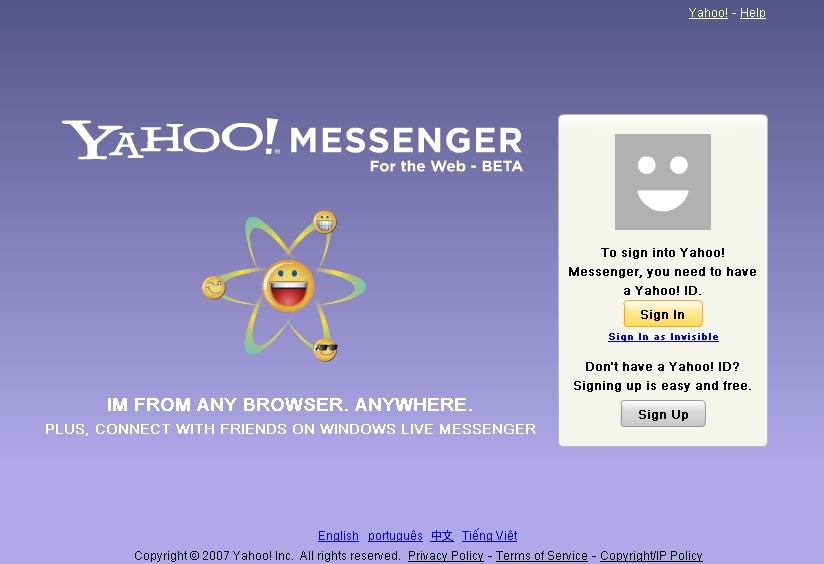 Yahoo chat user search