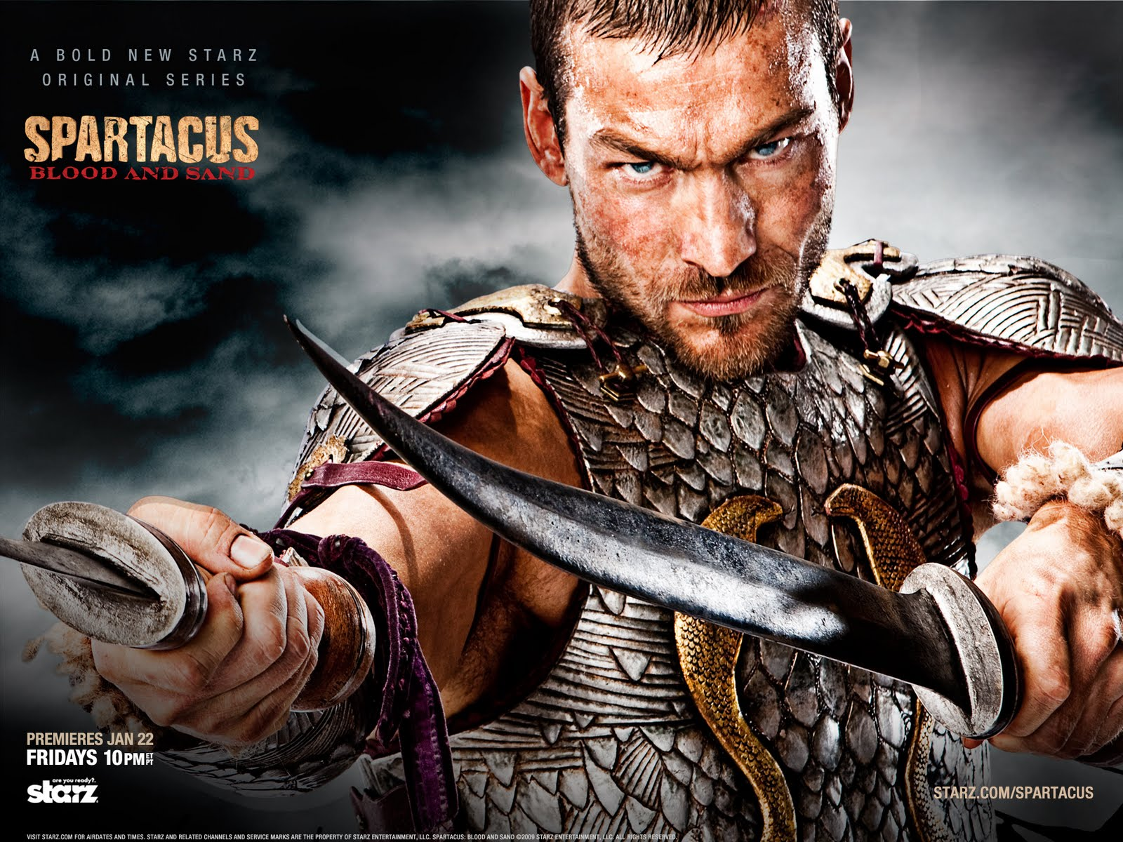 Wallpapers Spartacus.