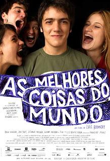 Filme Poster As Melhores Coisas do Mundo DVDRip XviD & RMVB Nacional
