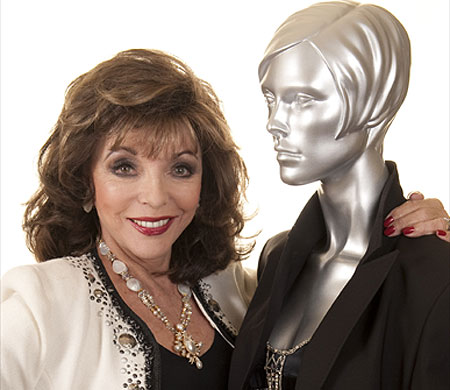 joan collins twitter. Dynasty diva Joan Collins