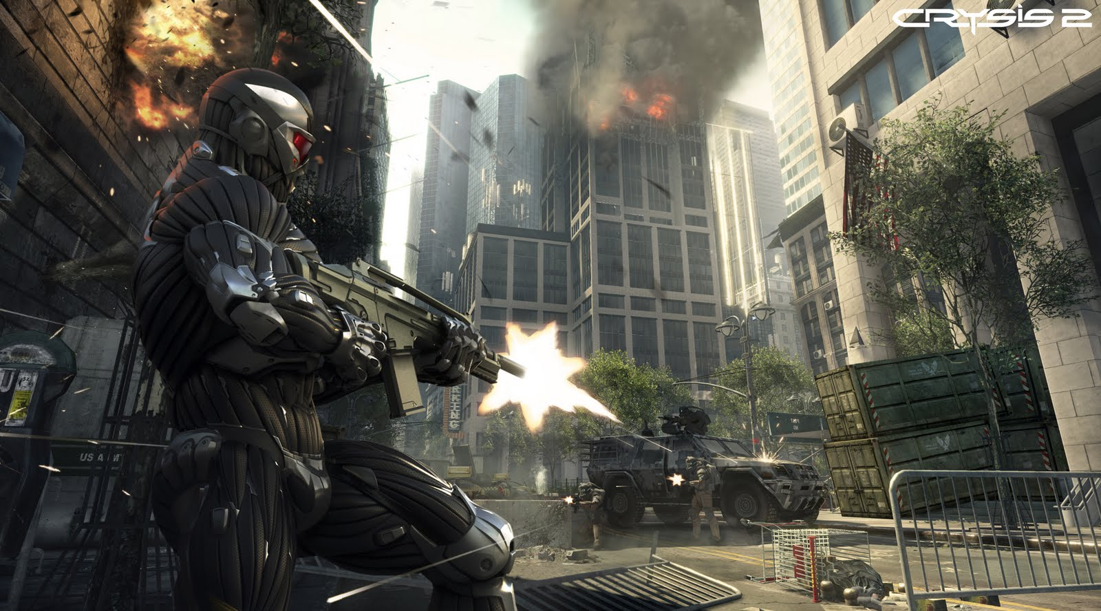 wallpaper city crysis 2 game high definition computer