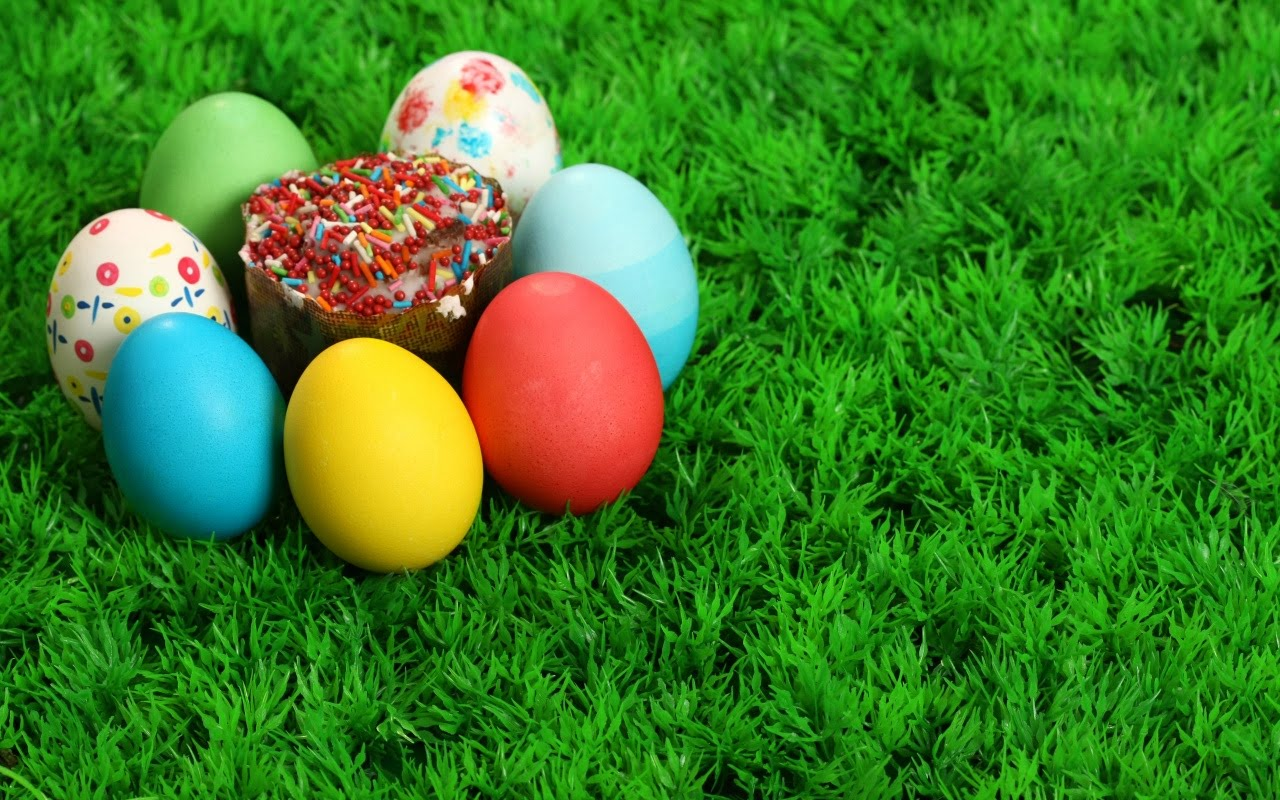 wallpapers box easter eggs and bunnies high definition