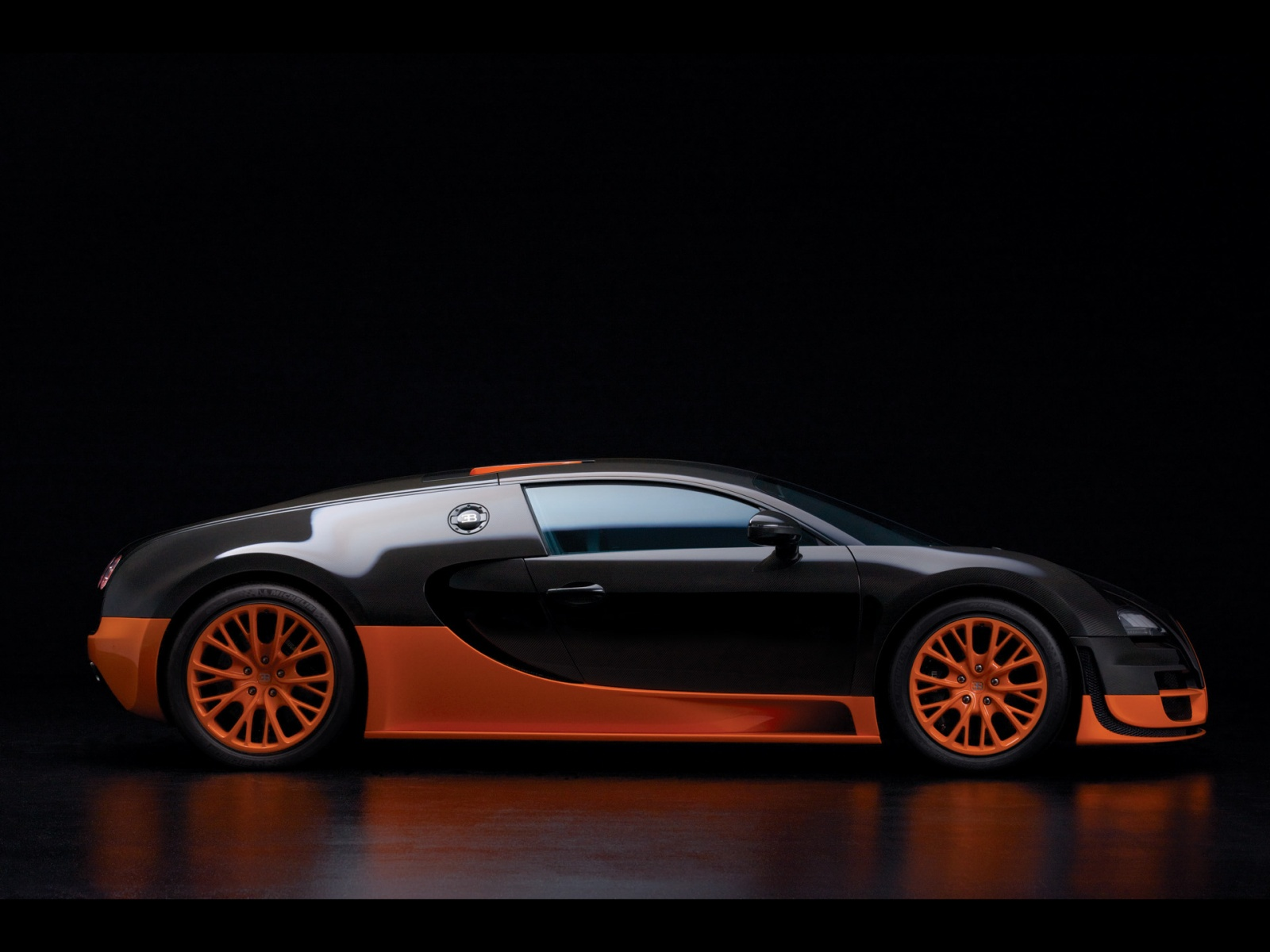 Bugatti Veyron Supersport on