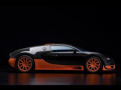 Bugatti Veyron Supersport on