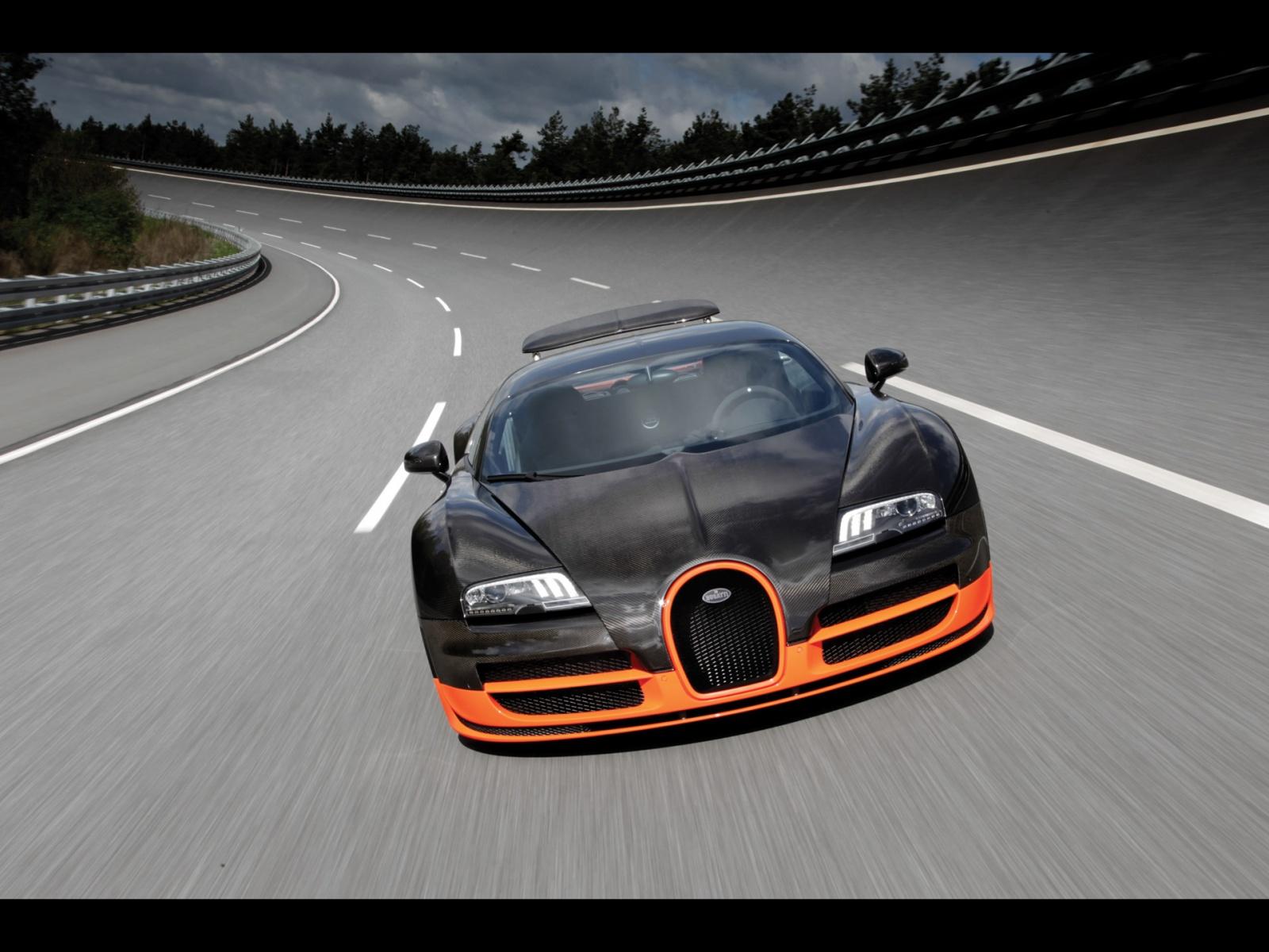 Bugatti Veyron Super Sport Car Pictures