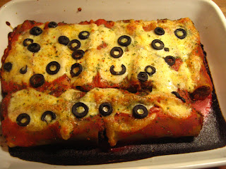 Lentil and Mushroom Cannelloni by Ng @ Whats for Dinner?