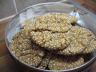 Peanut Butter and Sesame Seed Cookies by Ng @ What's for Dinner?