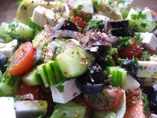 Greek Salad by Ng @ Whats for Dinner?