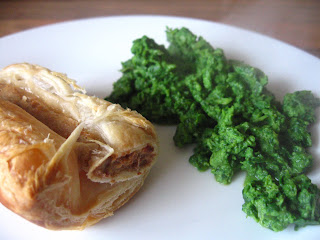 Happy St. Patrick's Day: Green Eggs with 'Ham' by Ng @ Whats for Dinner?