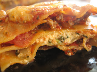 Organic Lasagna by ng @ Whats for Dinner?
