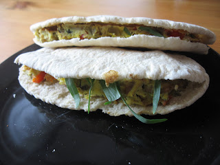 Pitta Egg Sandwich by ng @ Whats for Dinner?