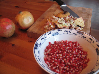 Pomegranate Salad by ng @ Whats for Dinner?