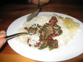 Eating Gormeh Sabzi by ng @ Whats for Dinner?