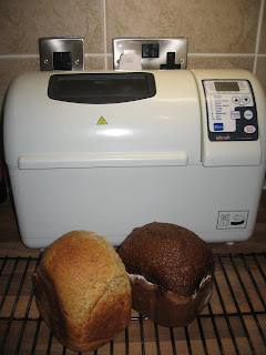 Bread Machine with Bread by ng @ Whats for Dinner?