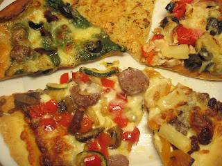 5 kinds of pizza @ Whats for Dinner?