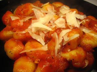 Gnocchi in Easy Tomato Sauce by Ng @ Whats for Dinner?