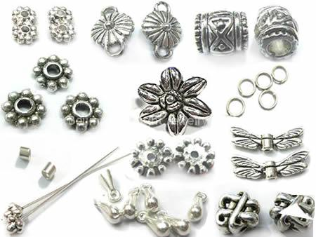 Silver Jewelry Findings Add Character to Jewelry Design