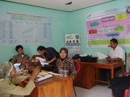 Suasana di kantor UPK