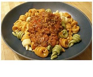 ragu with pasta