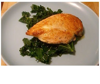 chicken with cavalo nero