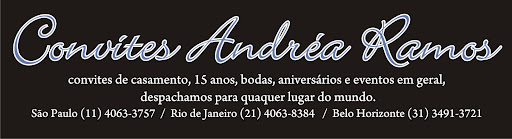 Convites Andréa Ramos