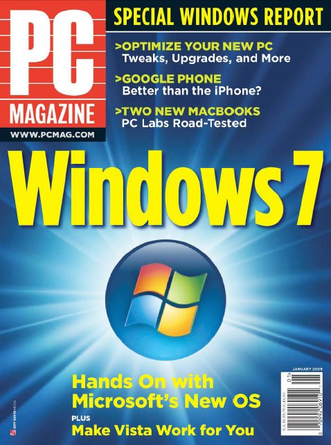 PC Magazine: January 2009