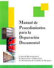Manual de procedimientos para la depuración documental