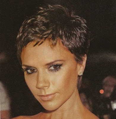 I love Victoria Beckhams Pixie hair cut!