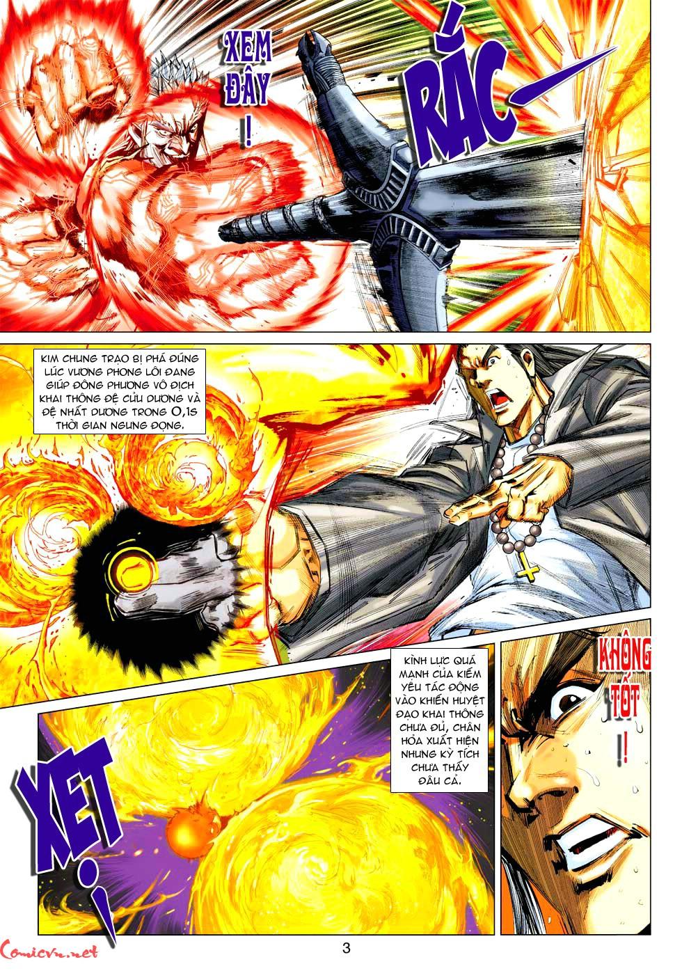 Vương Phong Lôi 1 chap 37 - Trang 13