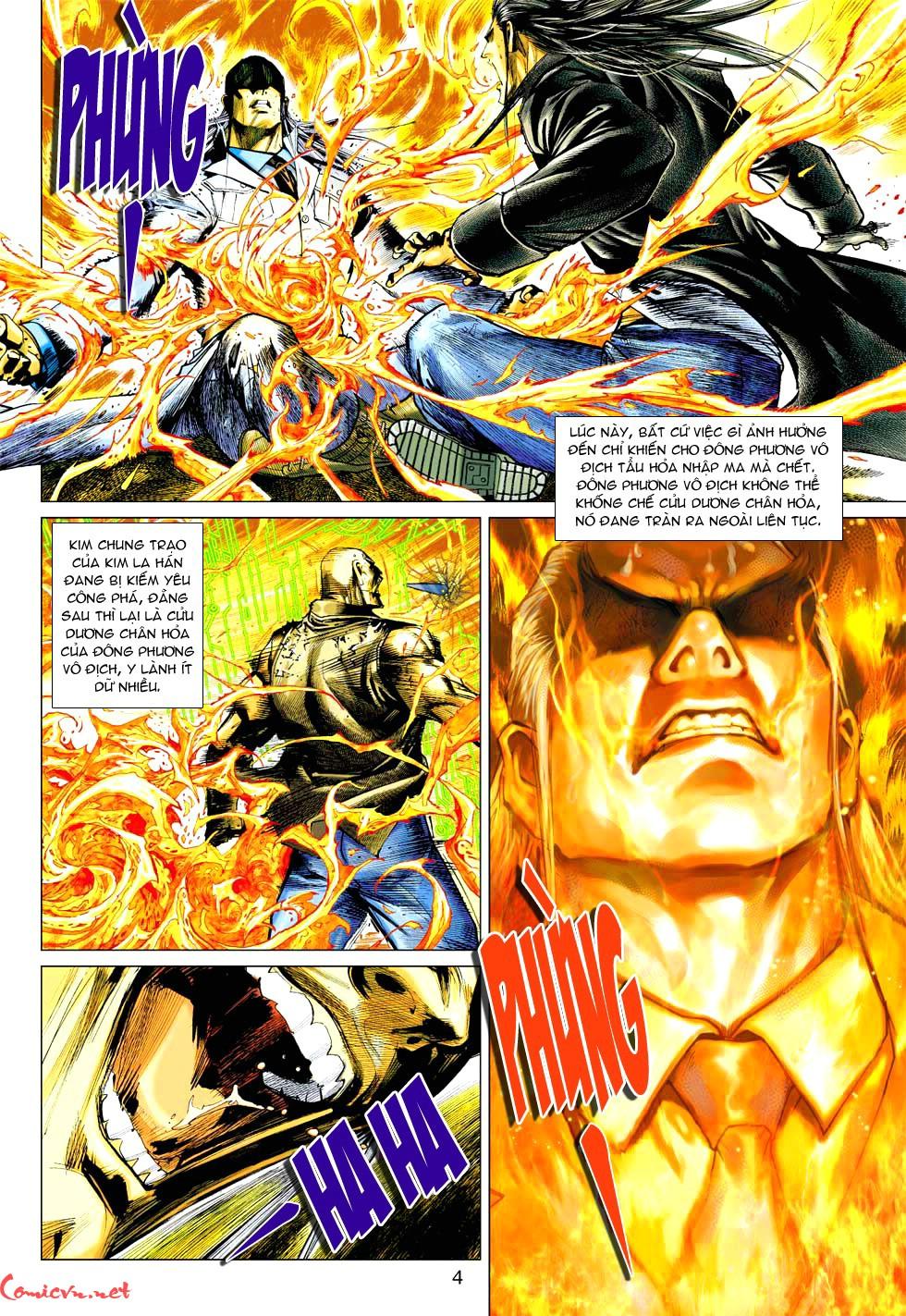 Vương Phong Lôi 1 chap 37 - Trang 24