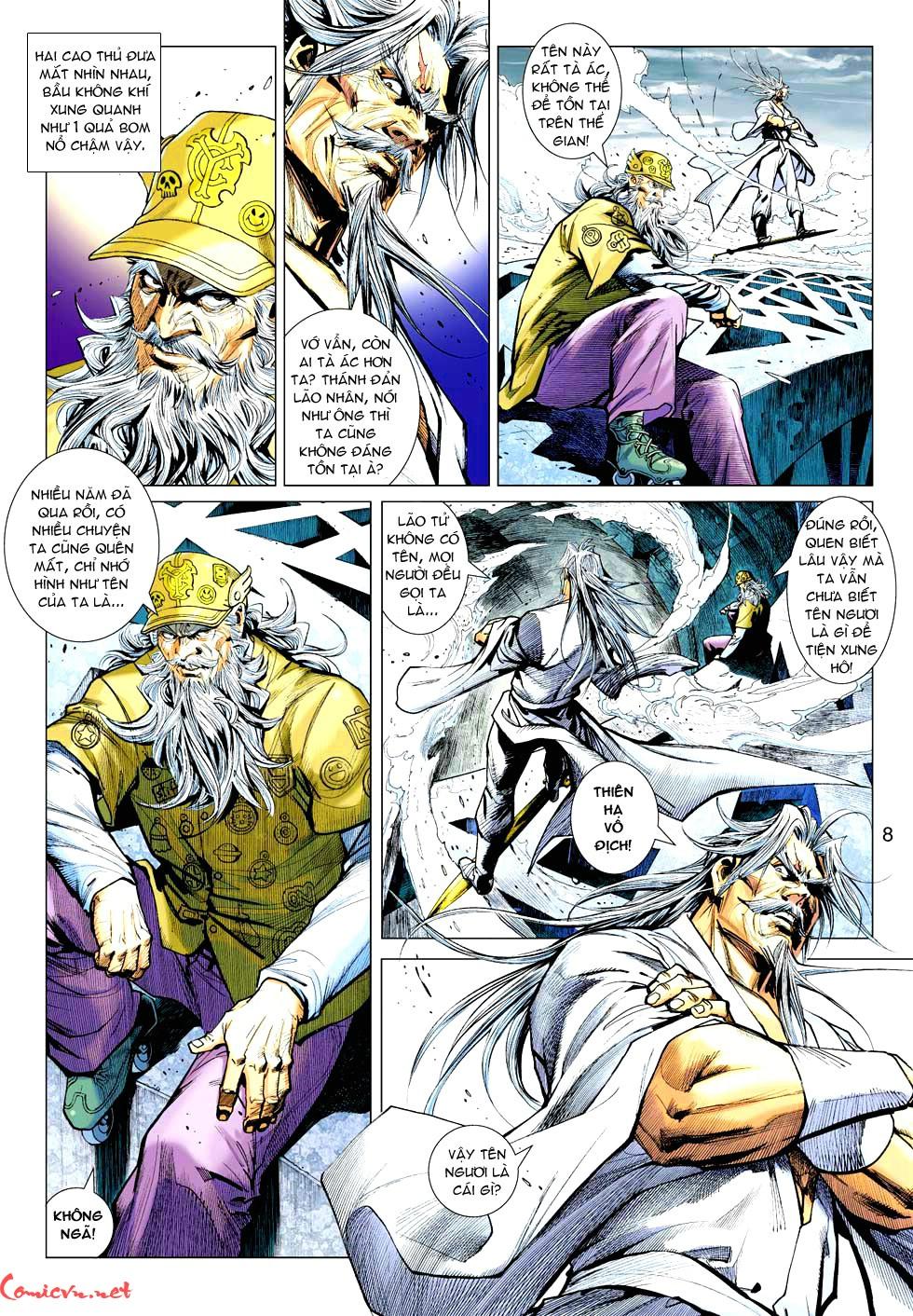 Vương Phong Lôi 1 chap 37 - Trang 28
