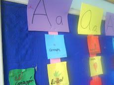 """"""" Aprendiendo palabras con A """""""