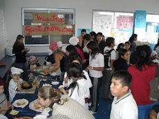 Exitosa muestra gastronómica del Kinder B...