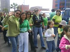 Profesoras de Alianza Verde...