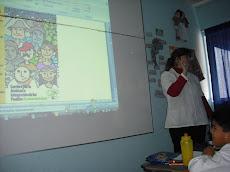 Profesora Cristina y el uso de las TICS...