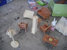 Muebles en miniatura...