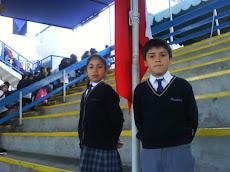 Alumnos del Tercero Básico A...