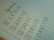 Cuadernos de clases muy ordenados...