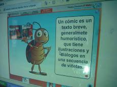 """Uso de TIC""""S, con la profesora Beatriz..."""