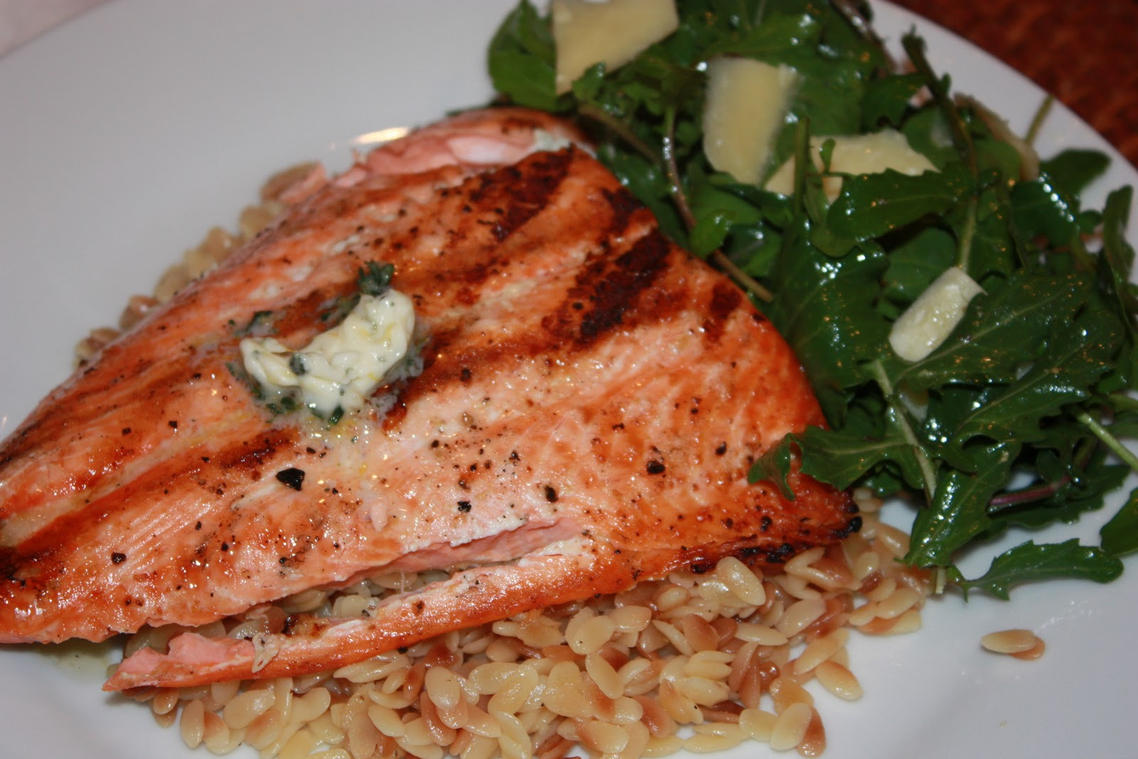 ... For More: Grilled Salmon with Herb and Meyer Lemon Compound Butter