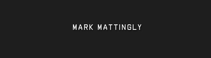 MARK MATTINGLY PHOTOGRAPHY BLOG
