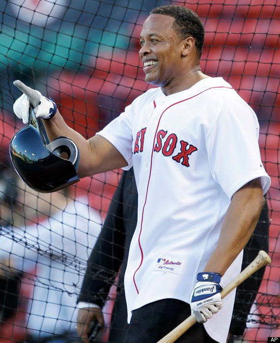 Dr  Dre Takes Batting Practice At Fenway Park For Yesterday OpeningDr Dre Before And After Steroids