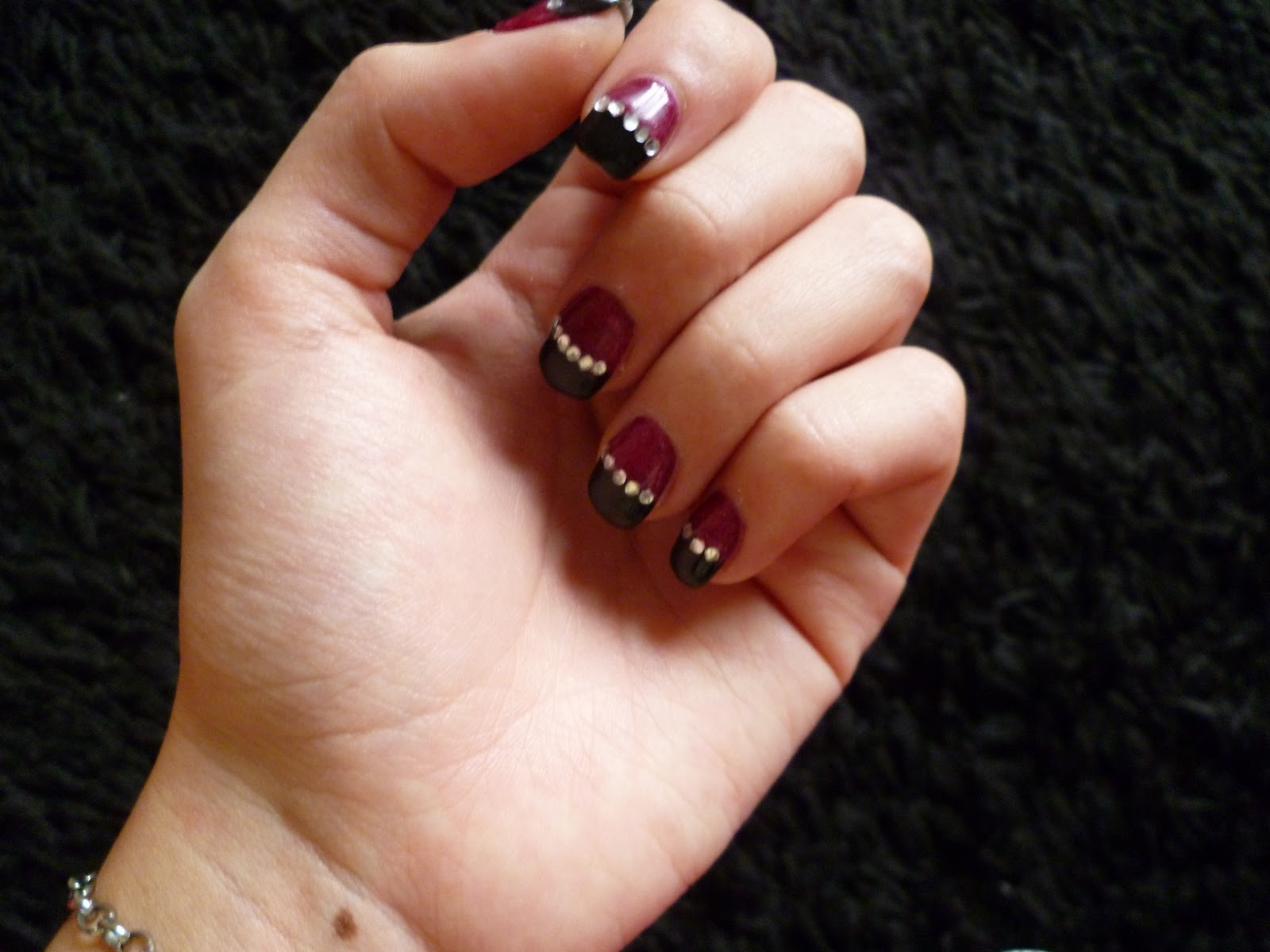 Nail Art Strass ♫♪