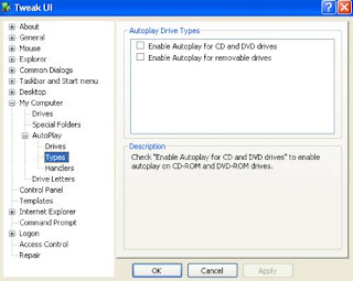 Cara Disable Autorun Pada Windows XP