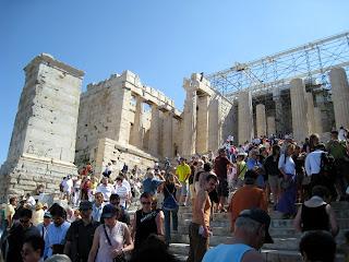 Athens, Greece - The Proylaea